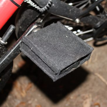 Barfuß mit Bärentatze Fahrradfahren?