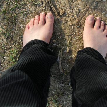 Hast du auch Tage, an denen deine Füße überempfindlich sind?