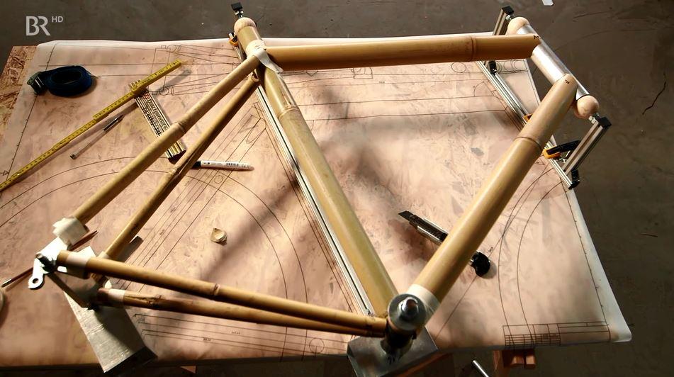 Bambusfahrrad