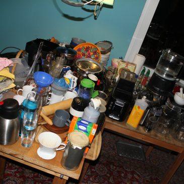 Und gestern war die Küche fällig