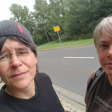 31, 27, 25, Pause und durch Hannover durch