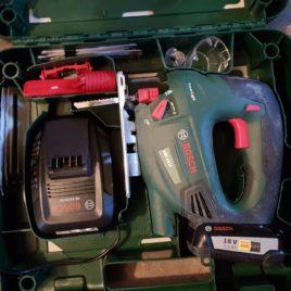 Bosch Akku Stichsäge PST 18 LI – einfach genial, wenn man keinen Strom auf der Strasse hat