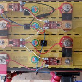 Bordbatterie LiFeYPo4 200Ah als Bausatz mit BMS etc.