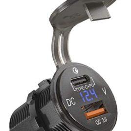 USB 3.0 und USB C Steckdose Buchse